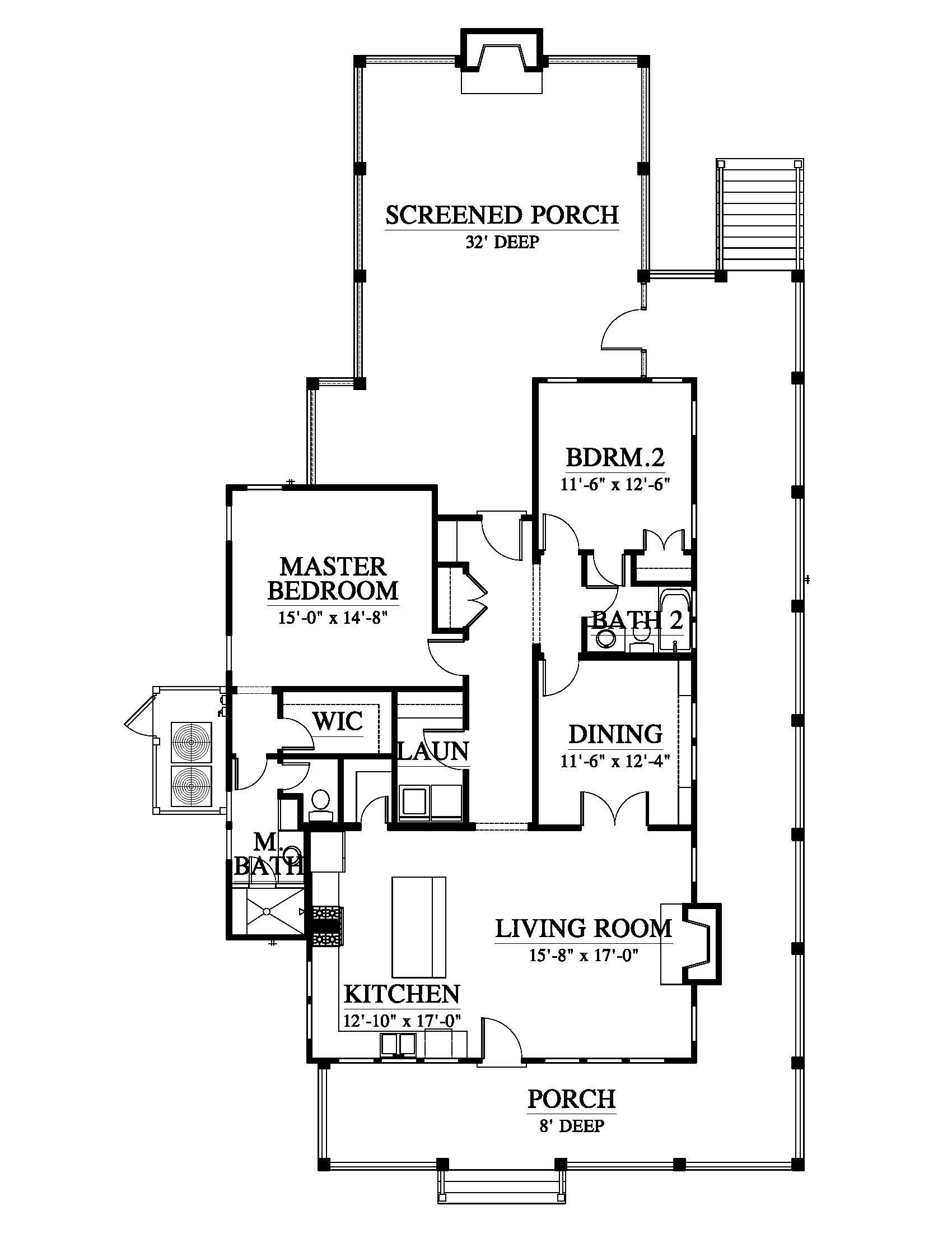Whisper Creek (153226) House Plan (153226) Design from Allison Ramsey  Architects