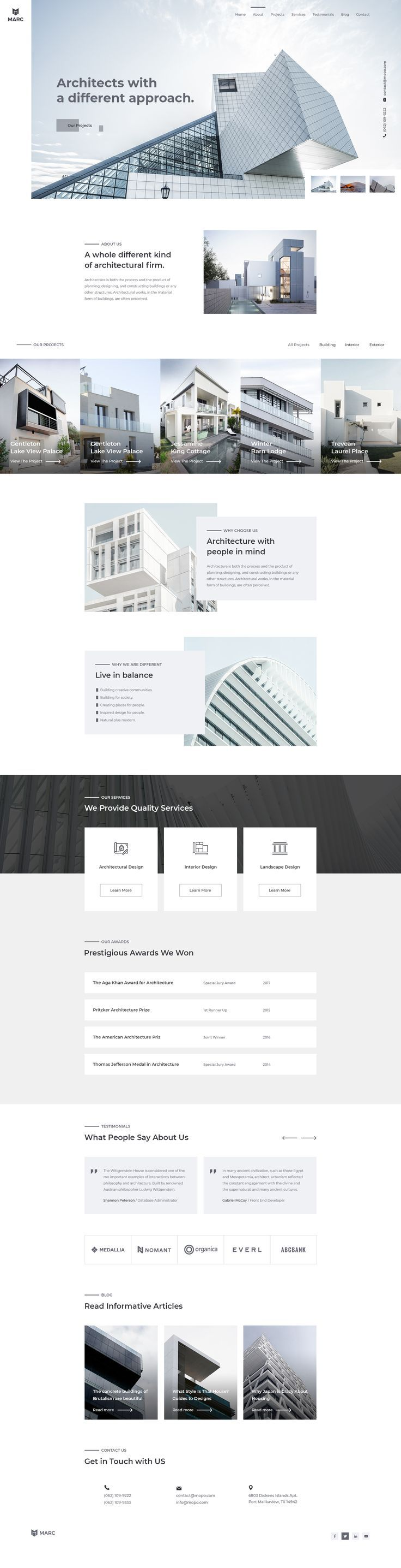 Web Design For Architecture Firms