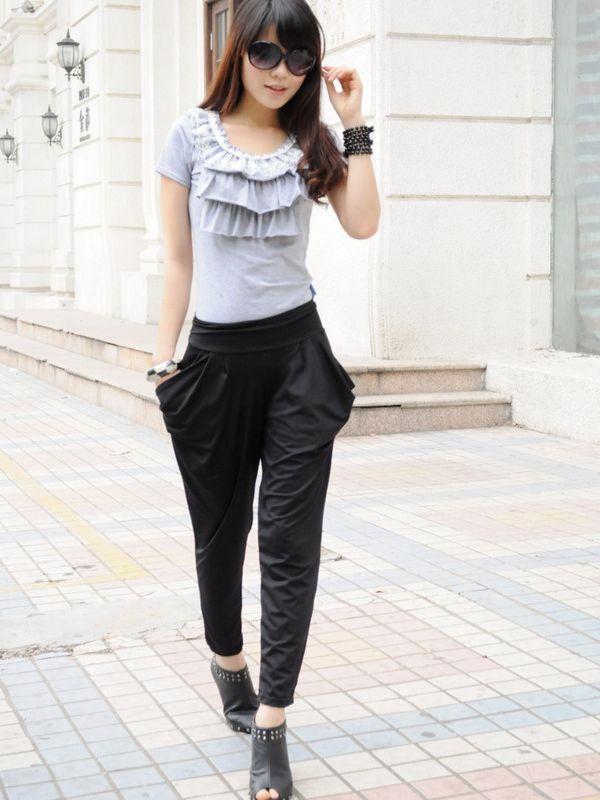 harem pants women - Google Search | Streetwear | Pinterest ...