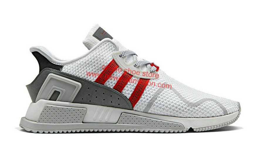 save off ad726 49f05 2018 Discount Adidas Originals EQT Cushion ADV Core White Grey Red Shoe