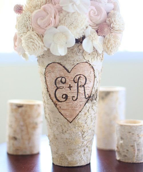 Look at this Personalized Birch Bark Vase on #zulily today!