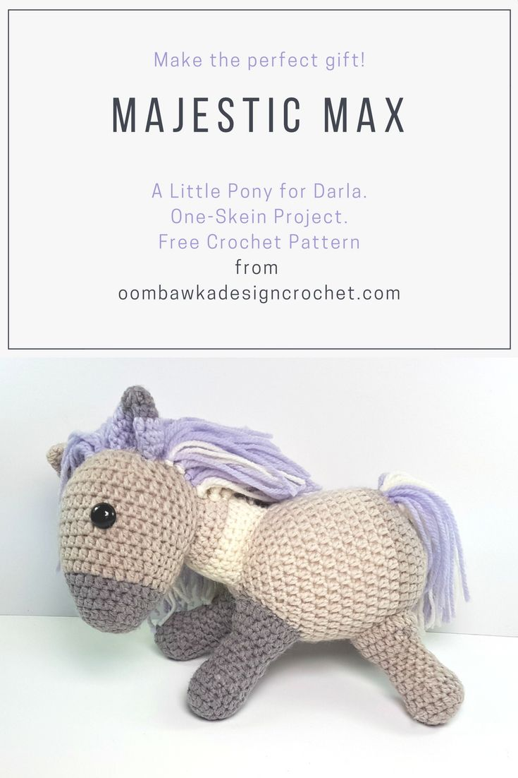 Majestic Max - A Little Pony for Darla