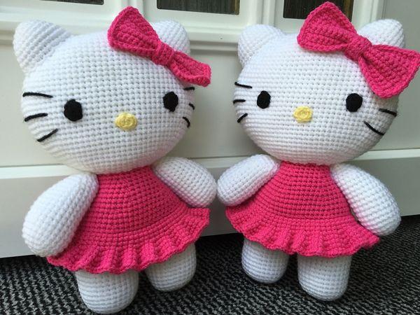 Big hello kitty crochet mimi crochet tricot et tricot et crochet - Hello kitty et mimi ...