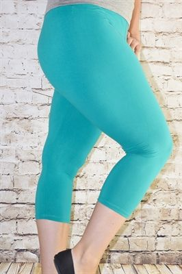 2b57470c1ffd01 Classic Solid Capris (Color Options) Buskins Leggings, Harem Shorts, Nice  Legs,