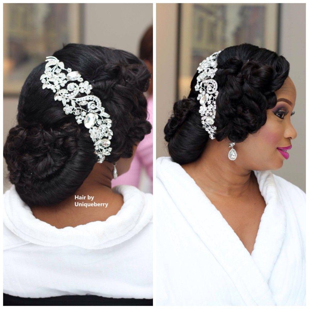 My Nigerian Wedding: My Wedding Nigeria Bridal Hair Inspiration