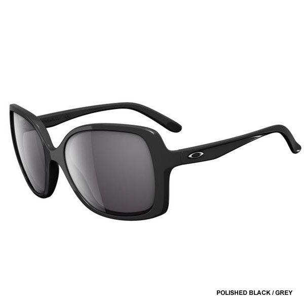 Oakley Women\u0027s Beckon Sunglasses - Polished Black / Grey Lens OO9125-01