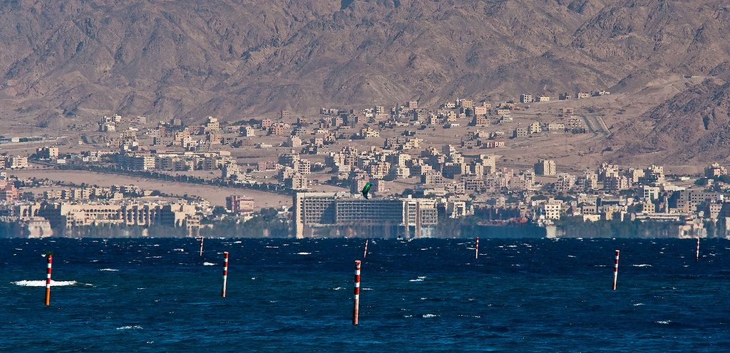 https://flic.kr/p/7nHGwF   Eilat gulf of Red sea   The photo is shot from a place near to the Egyptian border. On a photo - the Jordanian coast  of Eilat gulf.