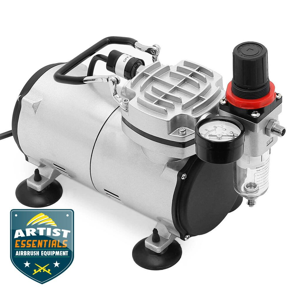OPEN BOX Tankless Portable 1/5HP Airbrush Compressor