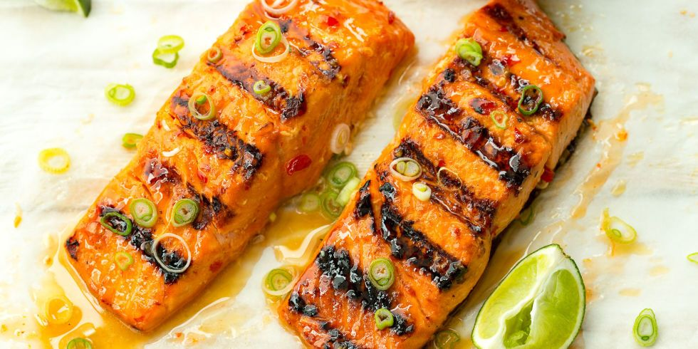 Sweet Chili Lime Grilled Salmon Recipe Grilled Salmon Recipes Grilled Salmon Salmon Recipes