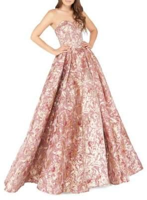 e797990cde41 Mac Duggal Glitter Sweetheart Neckline Ball Gown #gowns #prom #promdress  #eveningdresses #eveninggowns #affiliate
