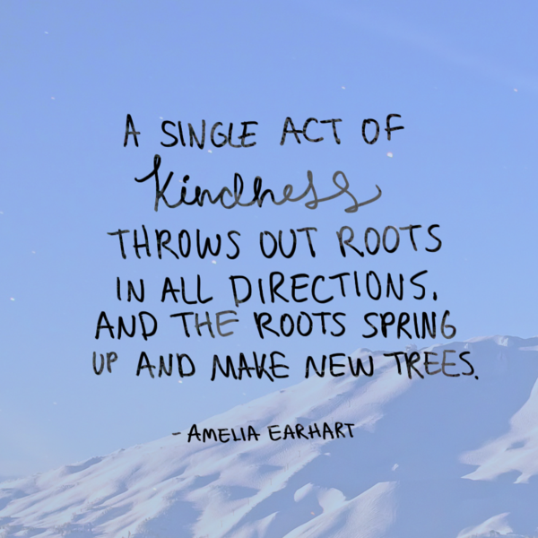 Act Of Kindness Quotes Adorable A Single Act Of Kindness  Spring Inspirational And Kindness Quotes