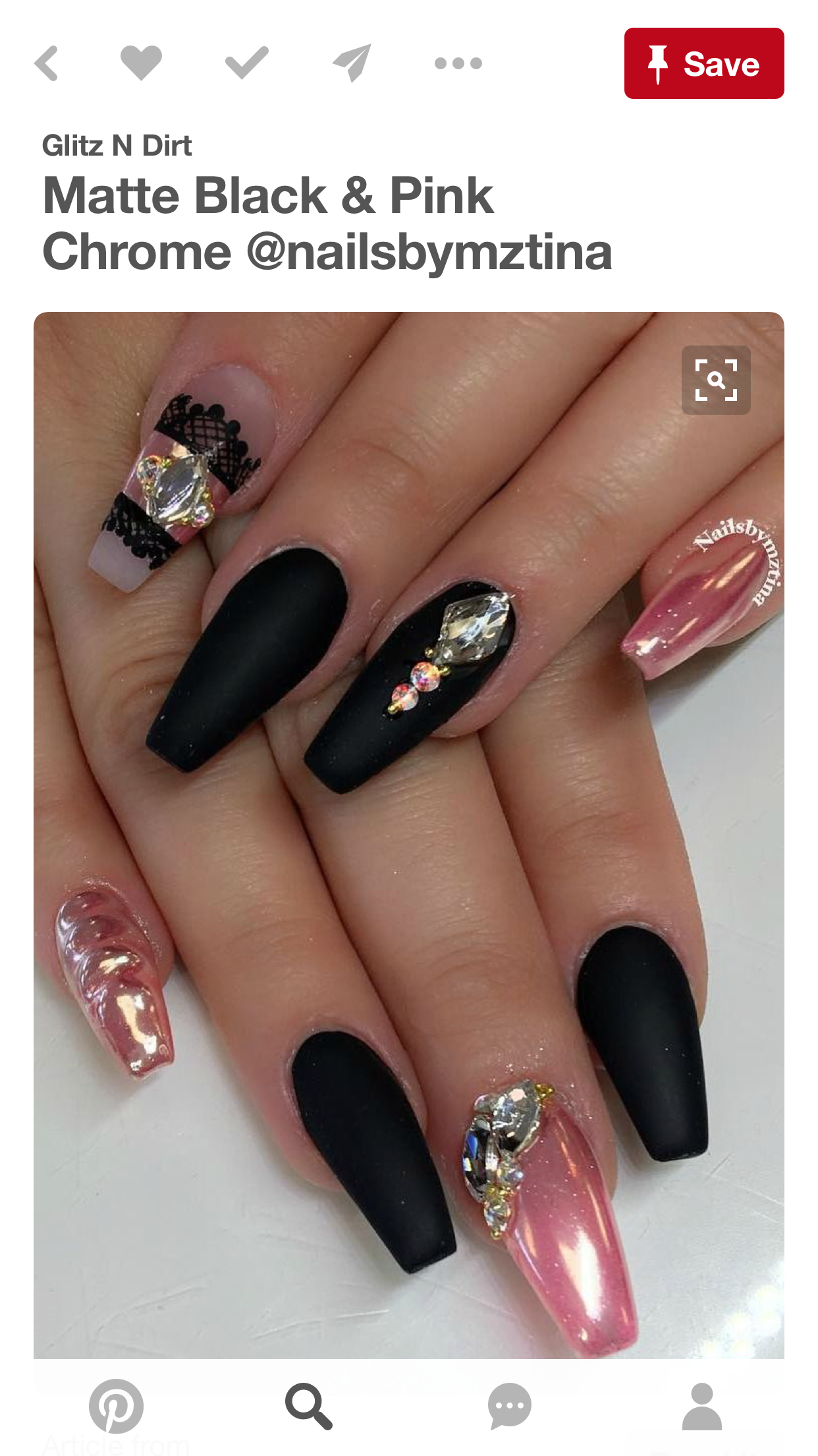 Pin by Melanie Purvis on Spring nails | Pinterest | Creative nails ...