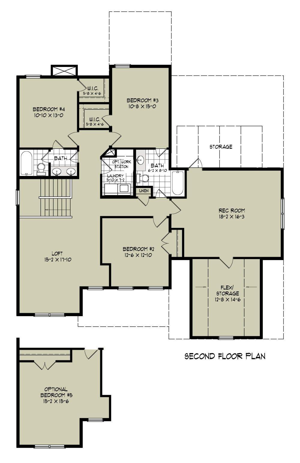 Virginia With Images Floor Plans Second Floor Bedroom Loft