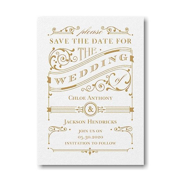 available at persnickety invitation studio rustic date save the date card