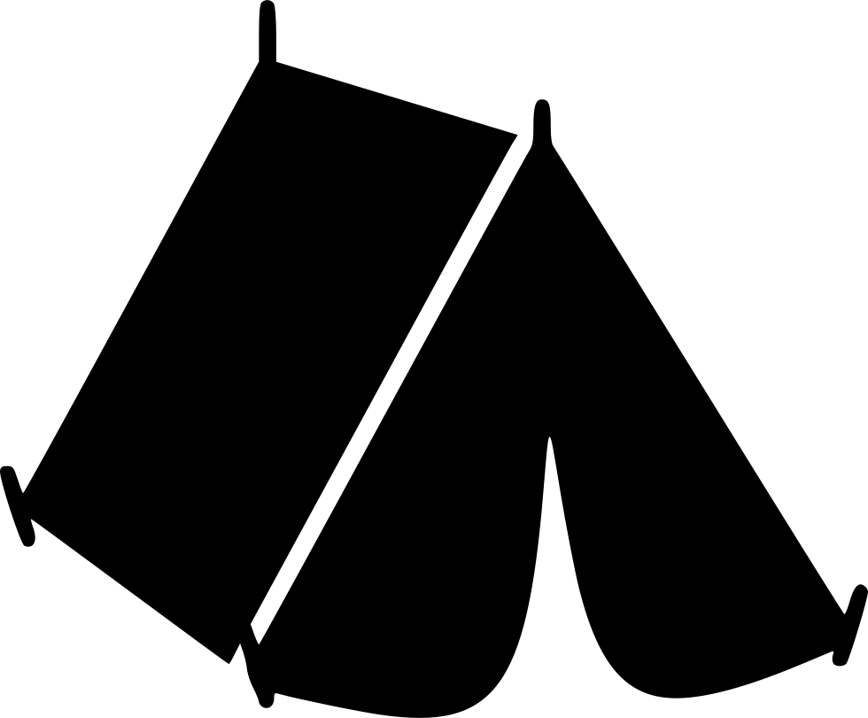 Black Tent Png Image Tent Black Clip Art