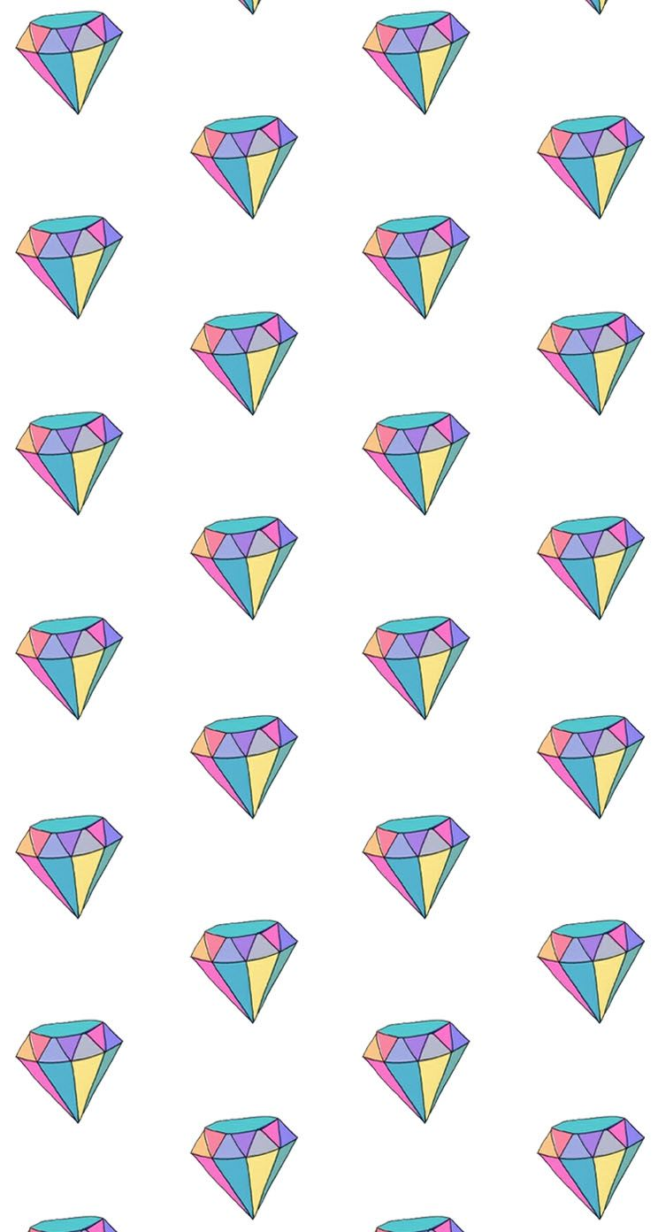 Lock And Home Screens Diamond Wallpaper Pattern Wallpaper Iphone 6 Wallpaper