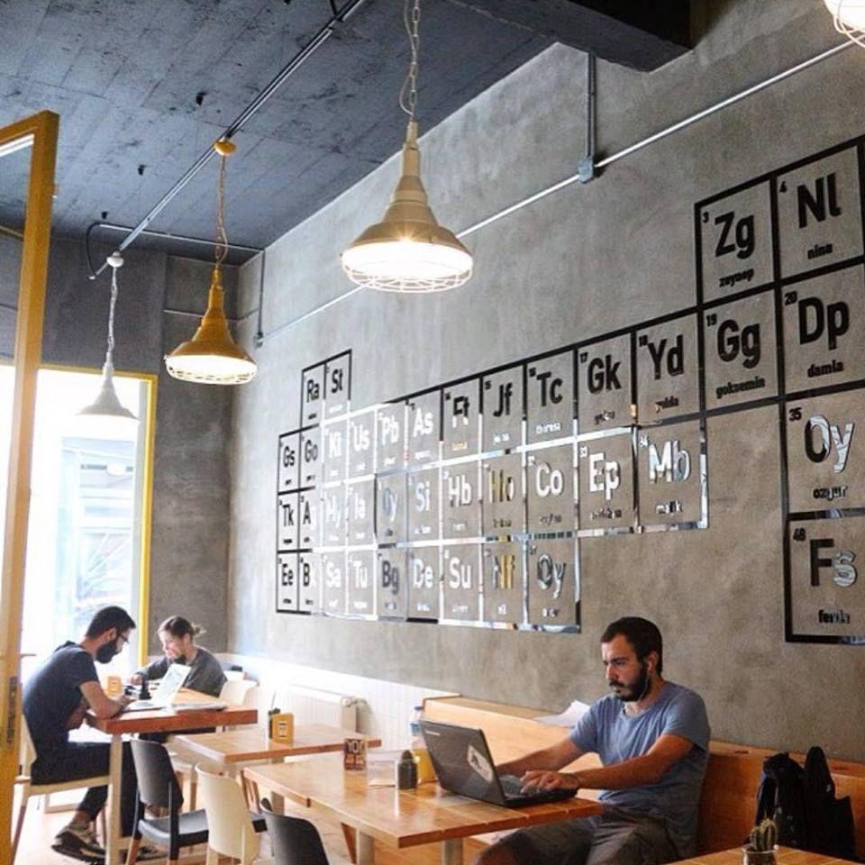 Le Walter S Coffee Roastary Un Cafe Inspire De Breaking Bad Bee Huge Design De Magasin De Cafe Coffee Shop Design De Cafe