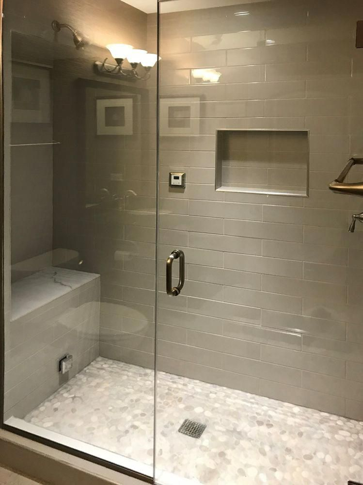 Bali Cloud Pebble Tile in 2020 Small bathroom remodel