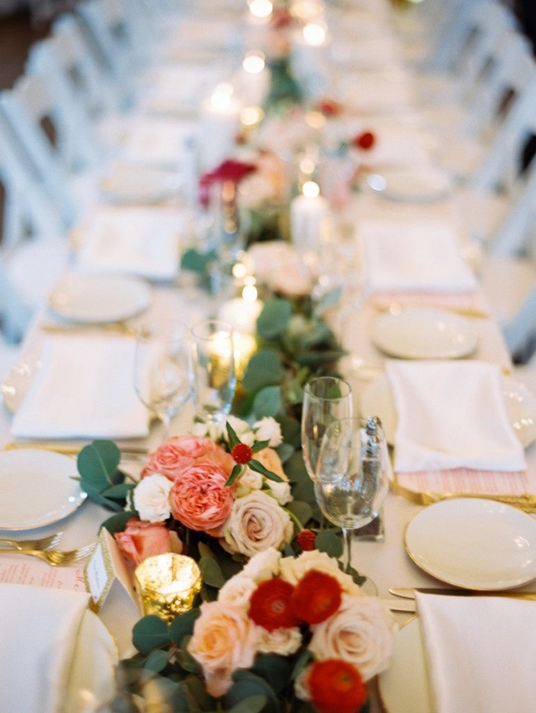 Wedding dinner decoration ideas  Valentineus Day Reception Decor u Table Ideas  Reception Wedding