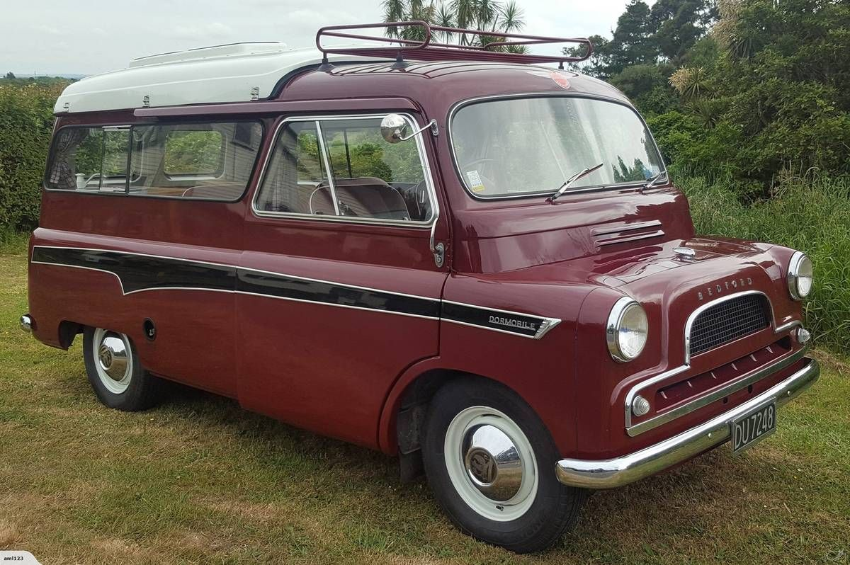 Sliding Doors Pop Top 1961 Bedford Ca Dormobile Camper In L A Bedford Sliding Doors Pop Top