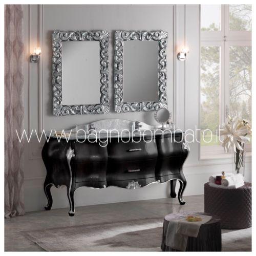 Arredo Bagno Barocco Moderno.Mobile Bagno Barocco Veneziano Moderno Di Lusso Top Cristal