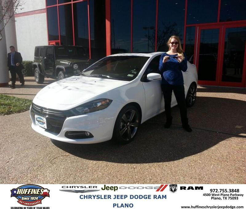 #HappyBirthday to Jessica Matton from Bill Moss at Huffines Chrysler Jeep Dodge RAM Plano!