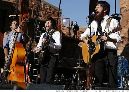 The Avett Brothers.  I can't wait to see them in October!
