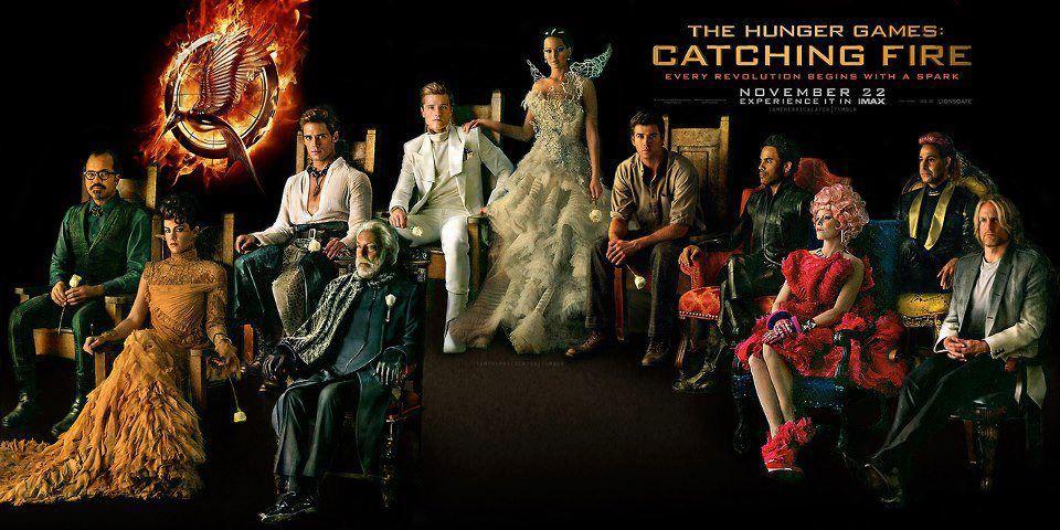 Catcing Fire Cast The Hunger Games Catching Fire Wallpaper Cast