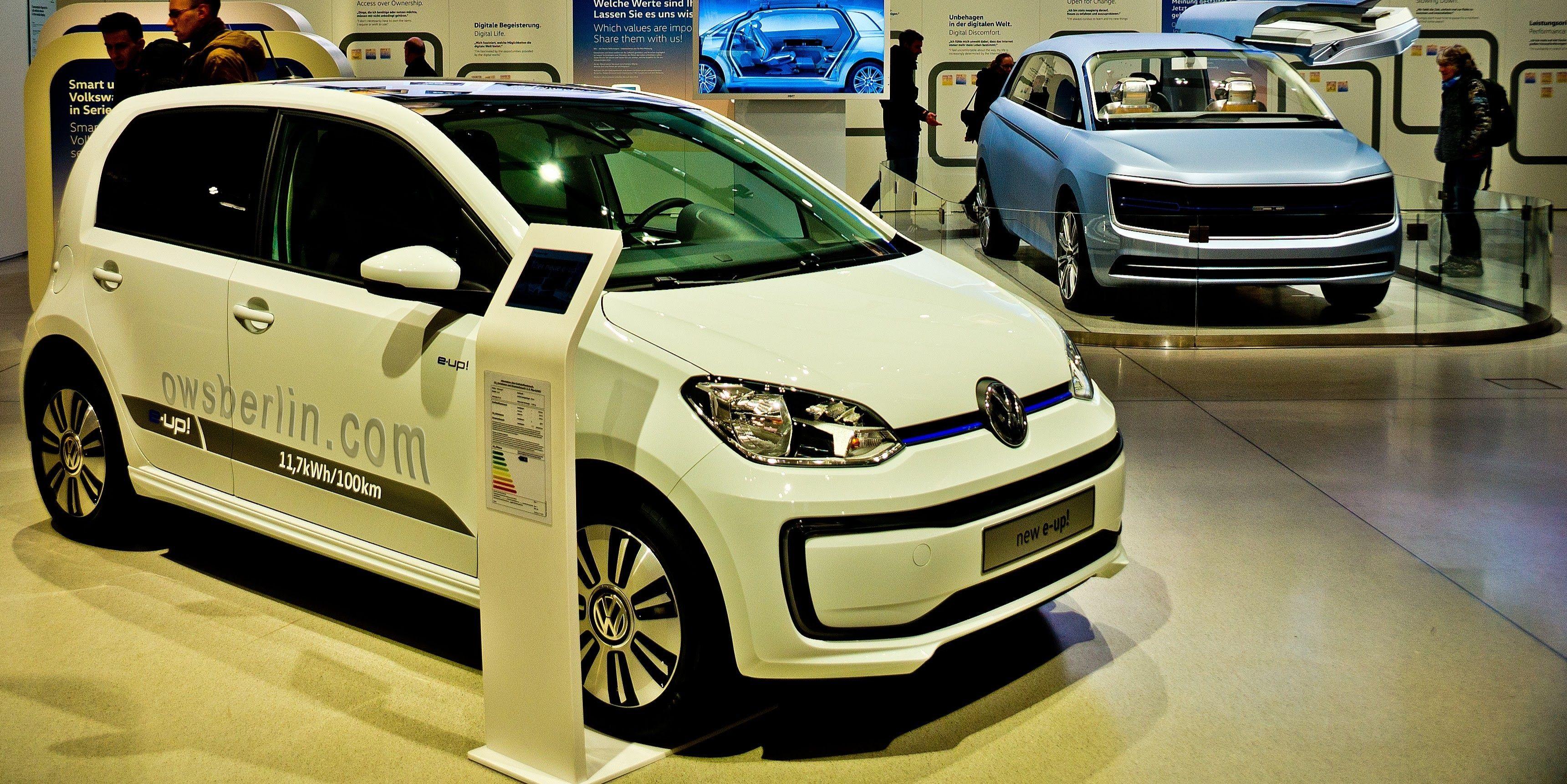 Volkswagen new e up DRIVE Volkswagen Group Forum Berlin 2017