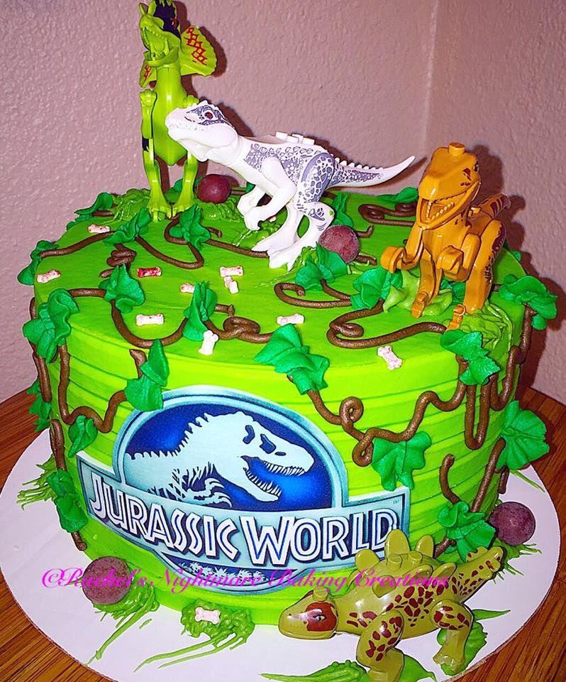 Jurassic World Cake Topper Ideas Rachels Nightmare Baking Creations Tasty Designs