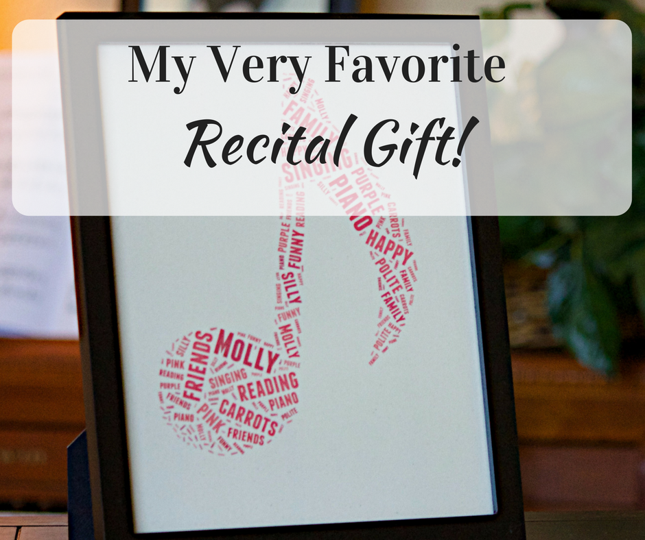 Upbeat Piano Teachers | Adorable Recital Gifts That Won\'t Break Your ...