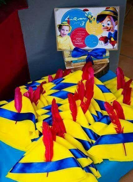 Pinocho Fiesta De Cumpleanos Infantil Pinocho Temas De Fiesta De Cumpleanos