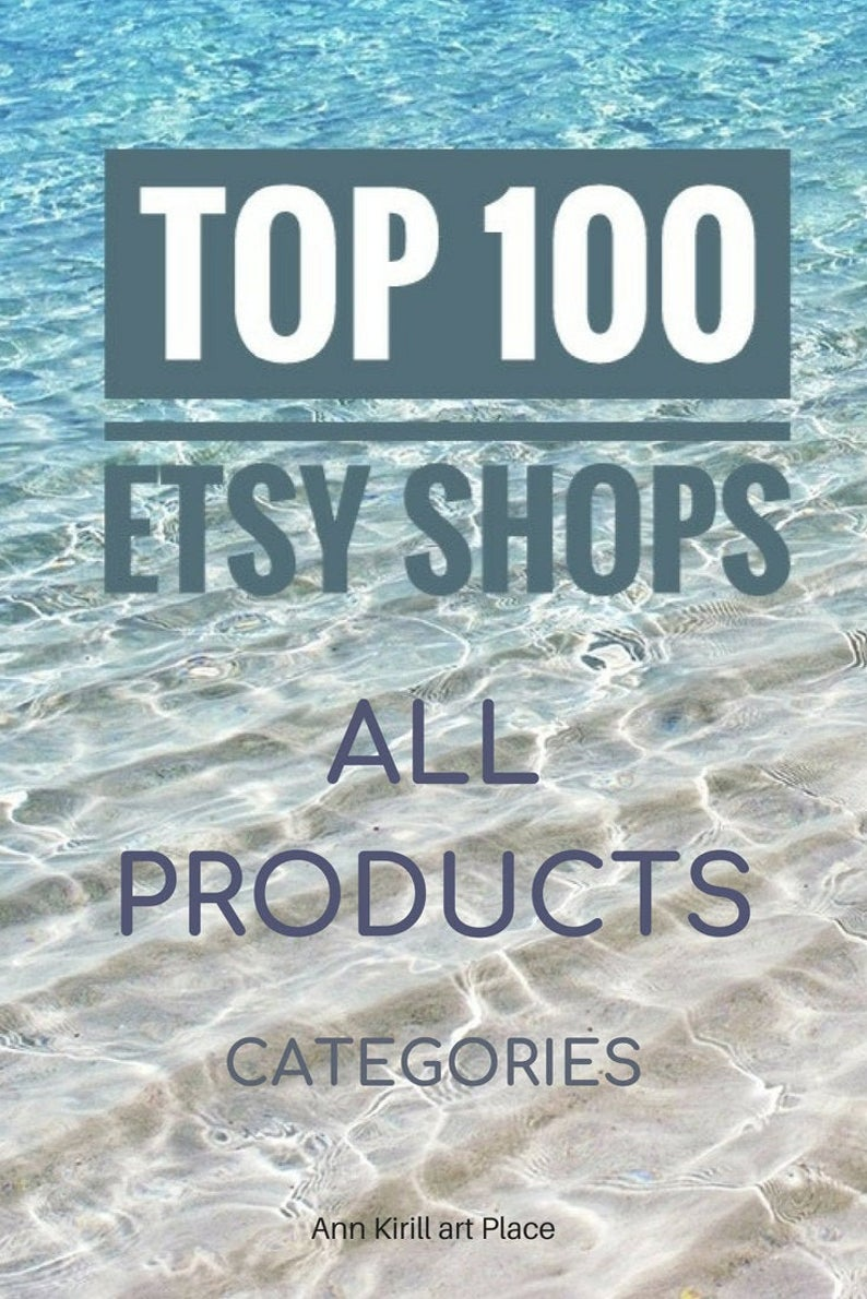Best Etsy Sellers Best on Etsy Shops Top Selling Shops Best | Etsy