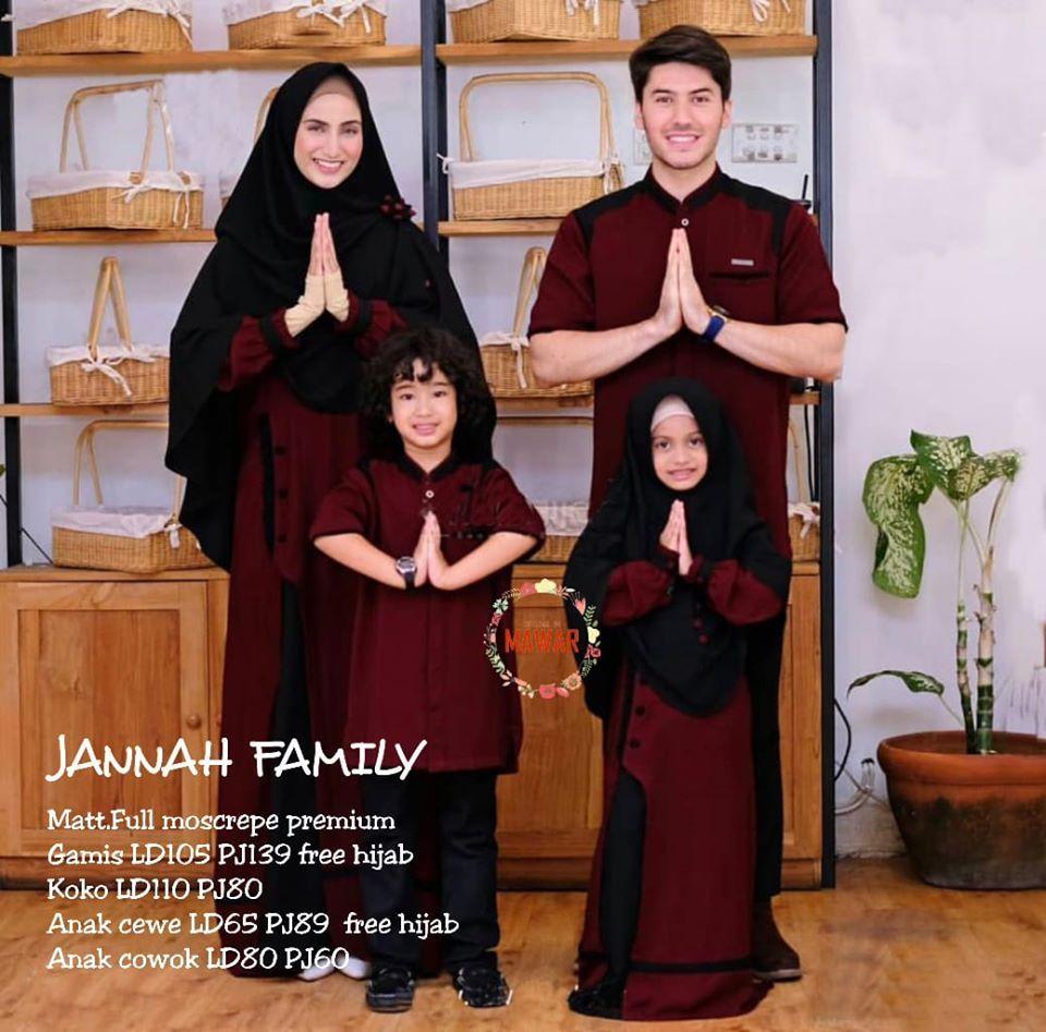 Terbaru Wa 0895 2103 6753 Gamis Couple Simple Keluarga Anak Solo Model
