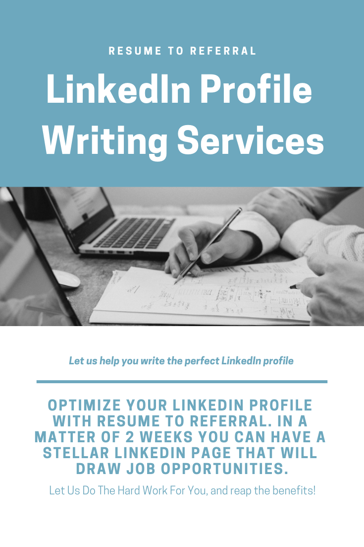 Linkedin professional writing services