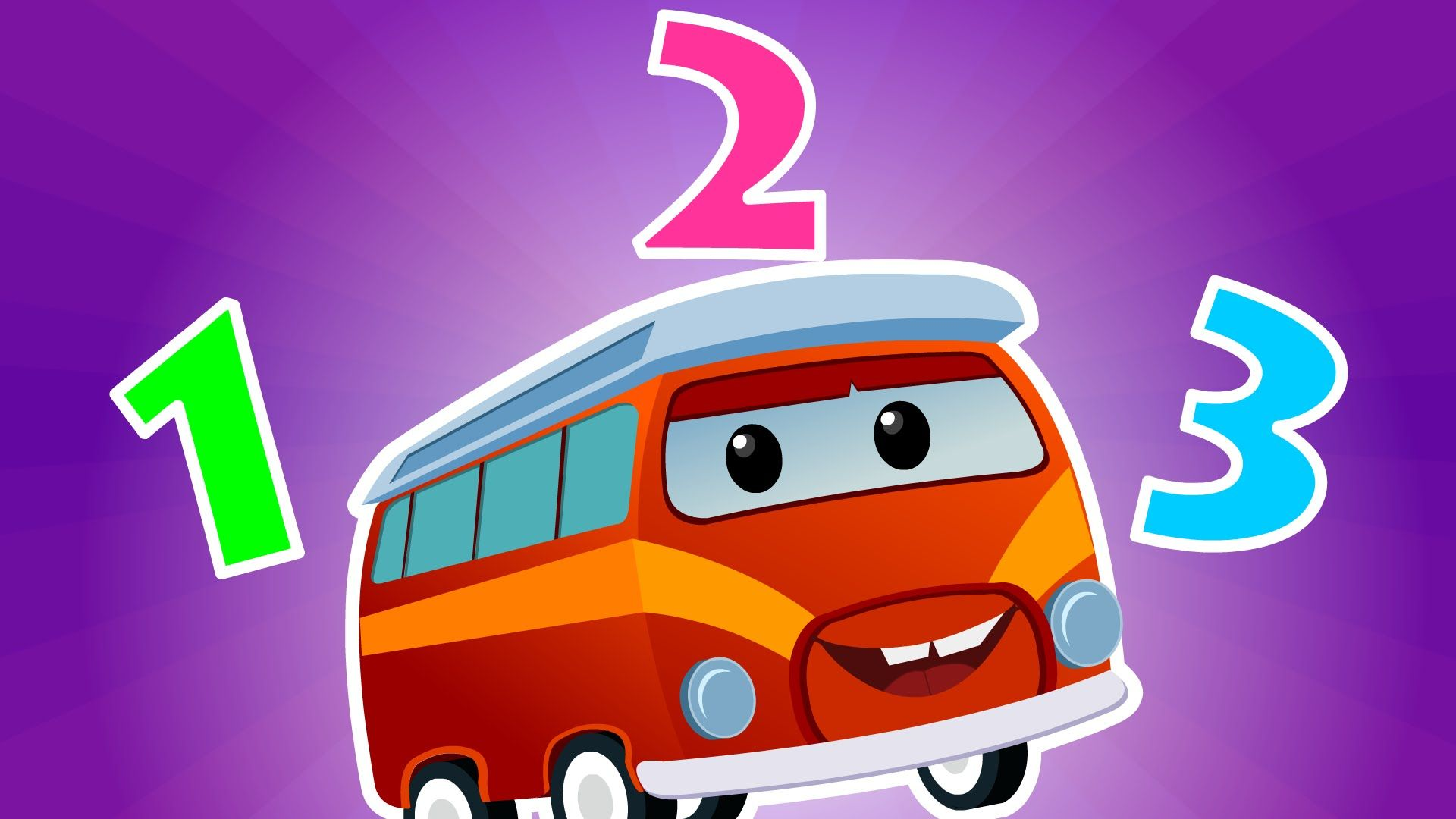 Number Song Learn Numbers 1 to 10 Animated Numbers for