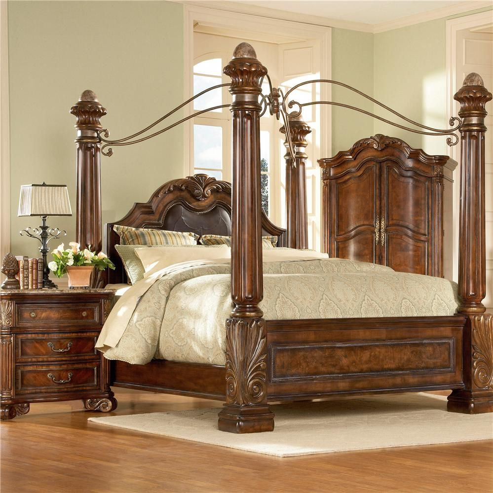 Regal cherry by a r t furniture inc great american - American furniture warehouse bedroom sets ...