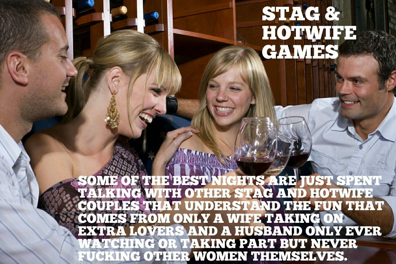 Stag and hotwife