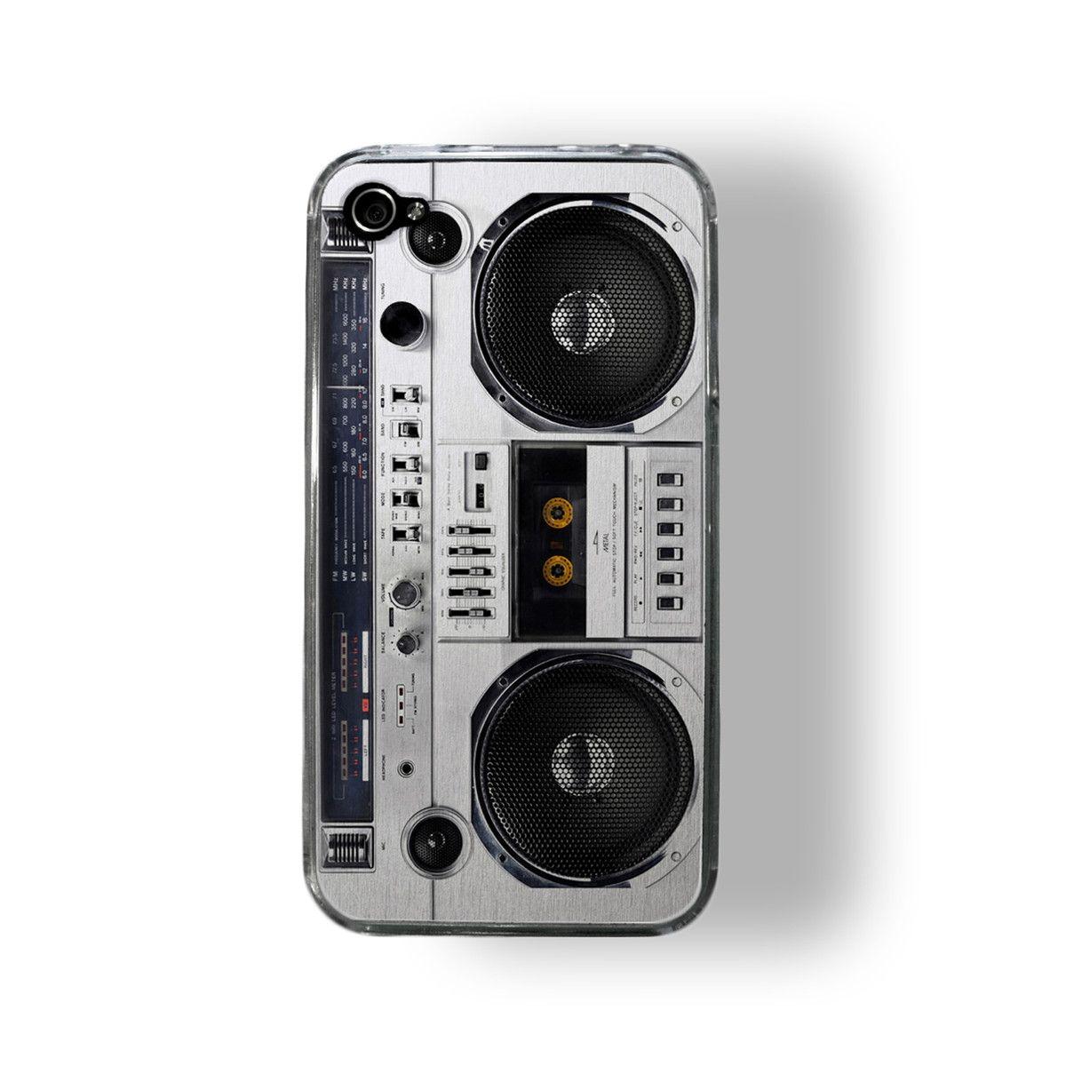 Boombox iPhone 4/4S Case