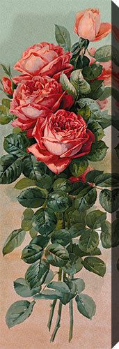 The Favorites by Paul de Longpre (:Stretched Canvas Print of Vintage Art:) #Vintage