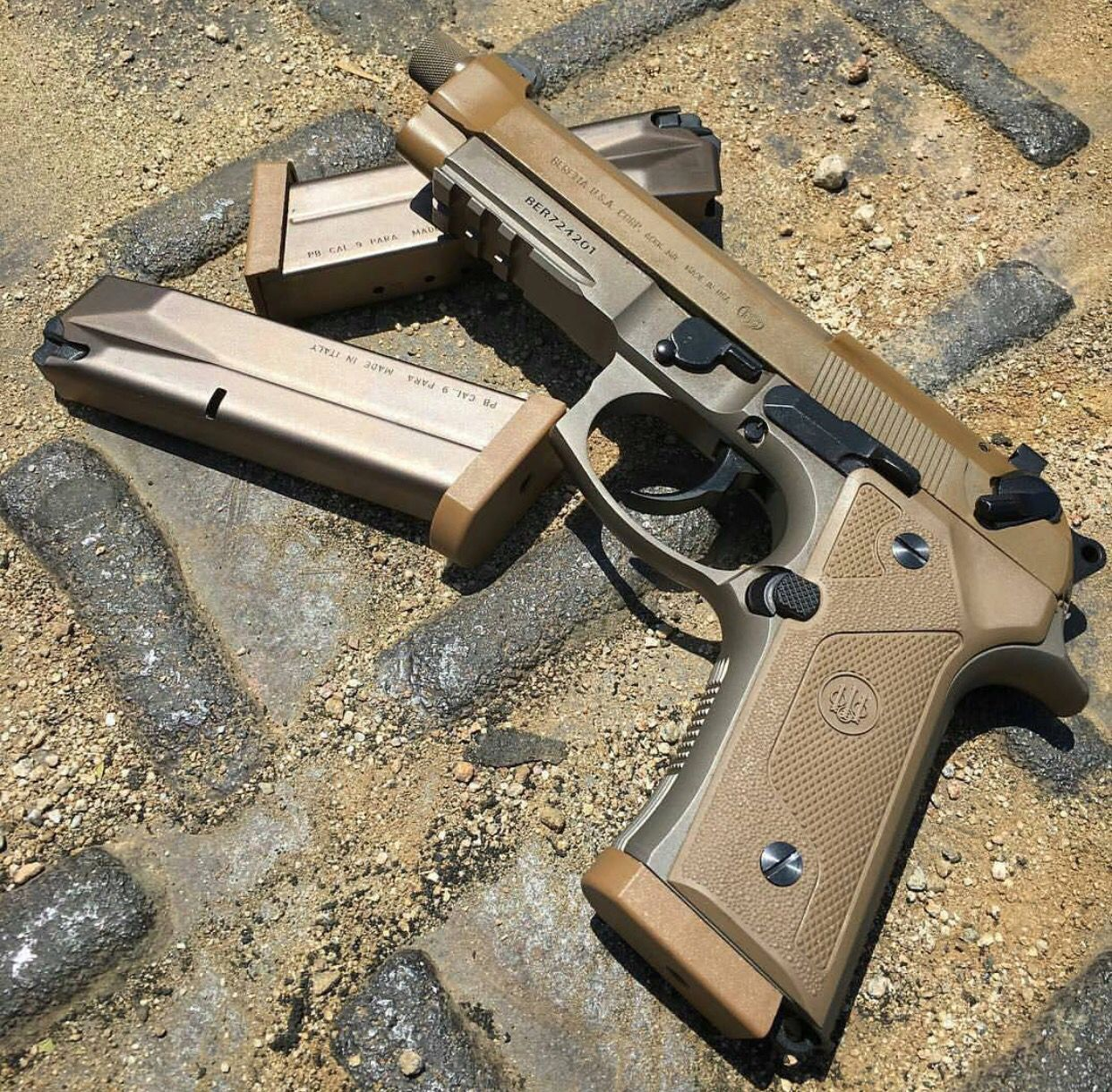 Beretta 9MM Effortlessly,quickly load almost any 9mm, 357 Sig .40 ...