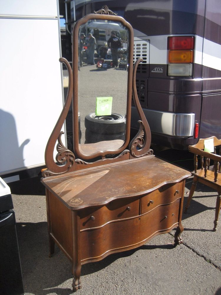 Antique Oak Dresser With Mirror Prices Bestdressers 2019