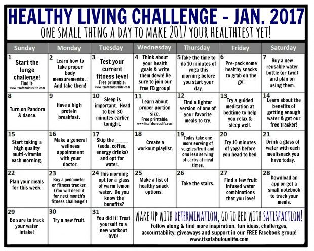 January 2017 Fitness Challenge Lunge Challenge It S A Fabulous Life In 2021 Healthy Habits Health Quotes Health Habits
