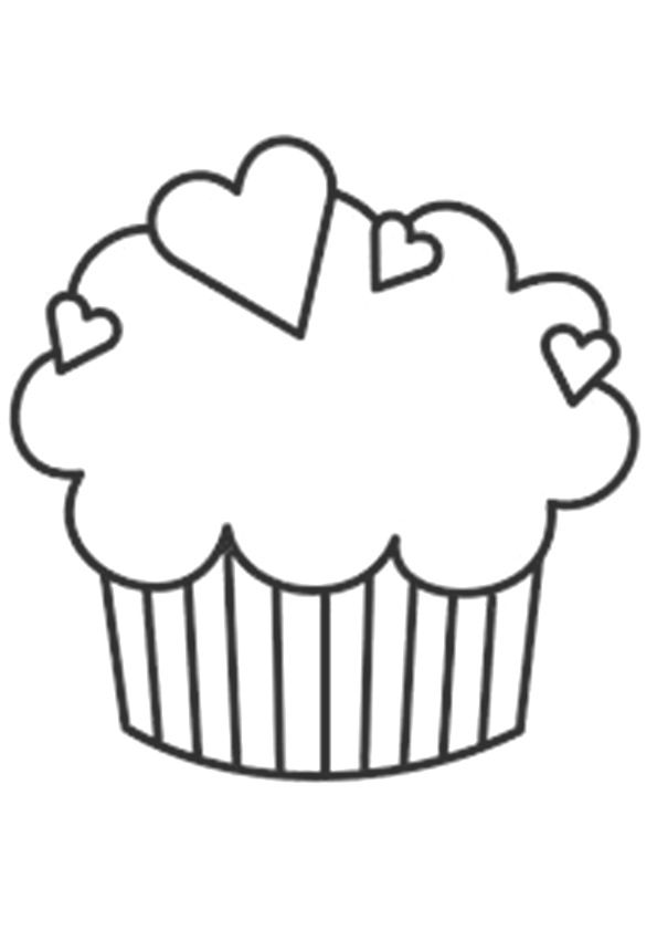 25 Lovely Cupcake Coloring Pages Your Toddler Will Love Candy Coloring Pages Cupcake Coloring Pages Coloring Pages