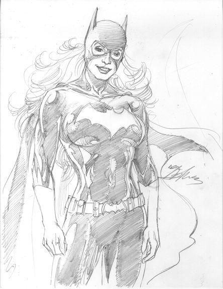 Batgirl By Neal Adams Dc Dibujos A Lápiz Dibujos Y Cómic