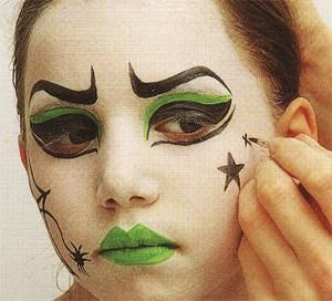 maquillage enfants halloween