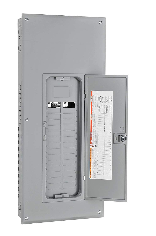 QO 60 Amp 2 Space 4 Circuit Main Lug Load Center Non Metallic Enclosure Neutral