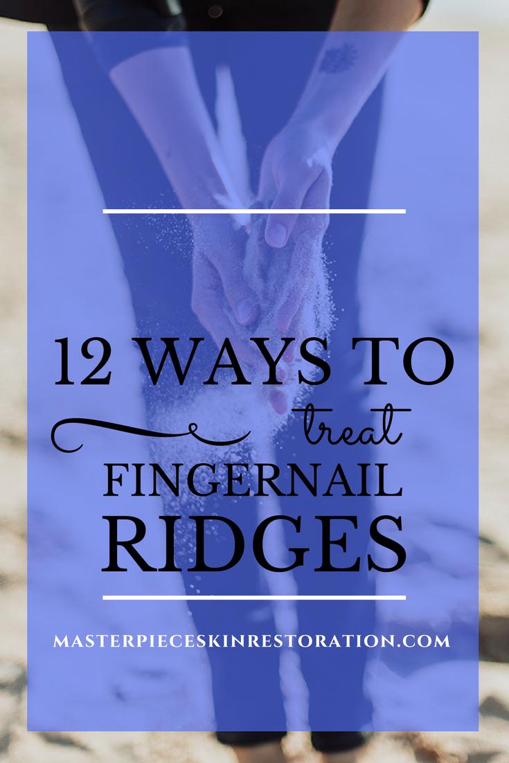12 Ways to Treat Fingernail Ridges | Fingernail ridges, Daisy cakes ...