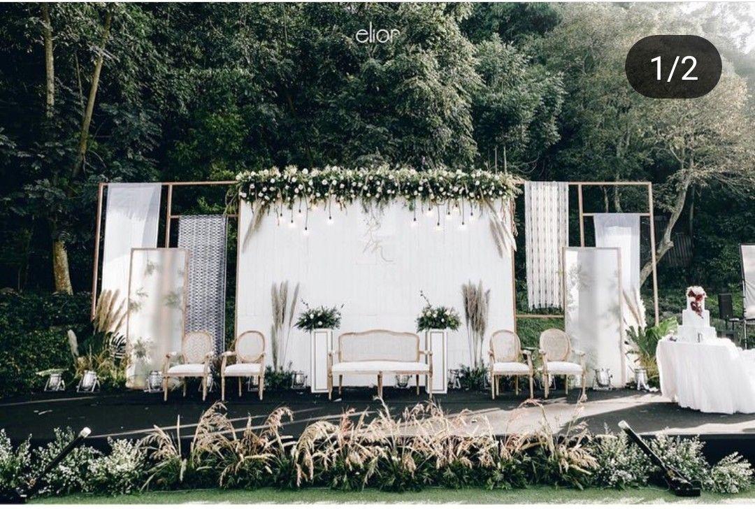 Elegant Garden Wedding In Napa Valley Loverly Garden Chic Wedding Garden Wedding Decorations Outdoor Wedding