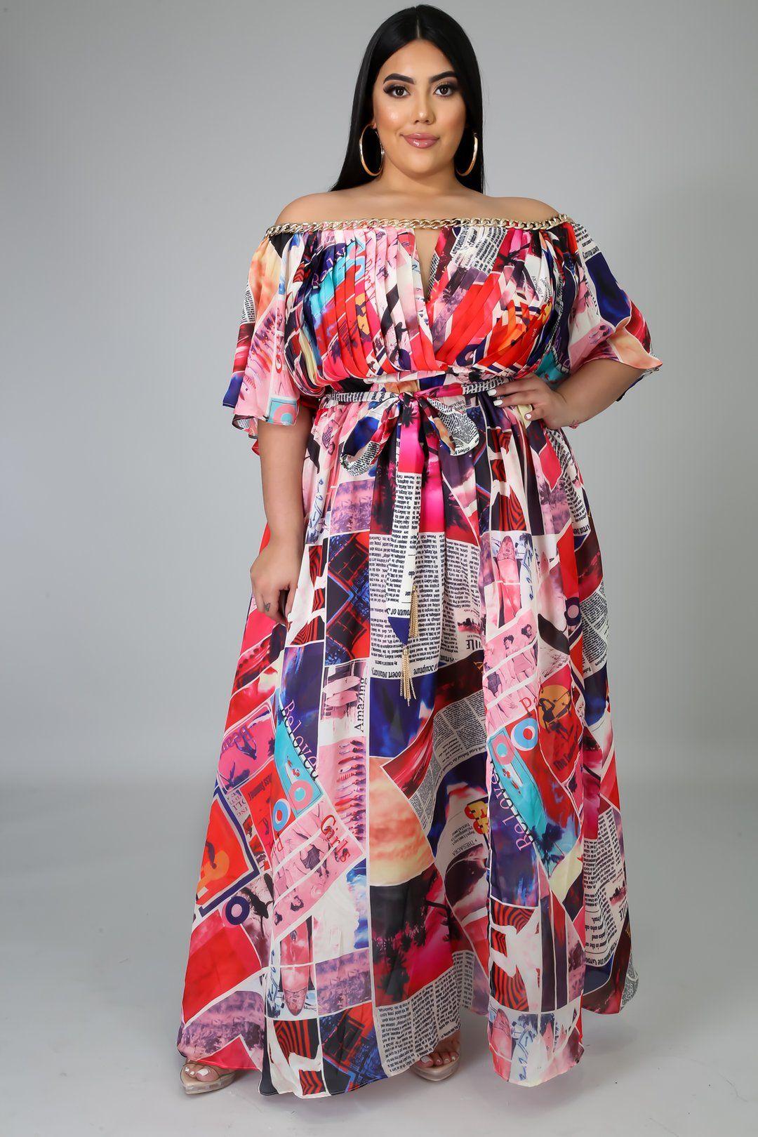 Breaking News Dress Dresses Plus Size Dresses Plus Size Maxi Dresses [ 1620 x 1080 Pixel ]